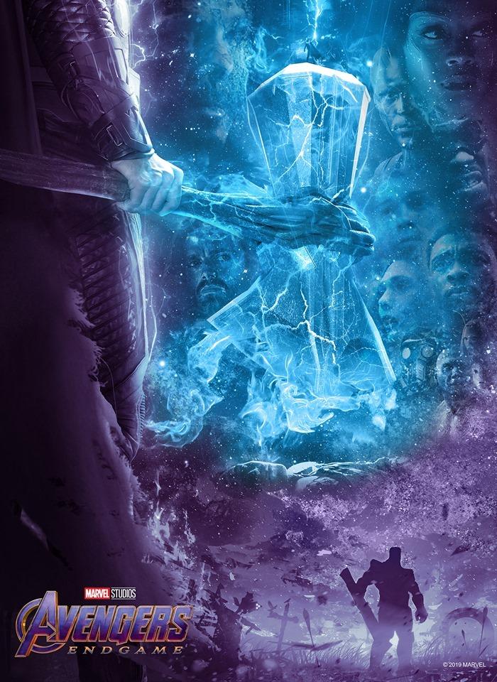 Avengers: Endgame (2019) poster