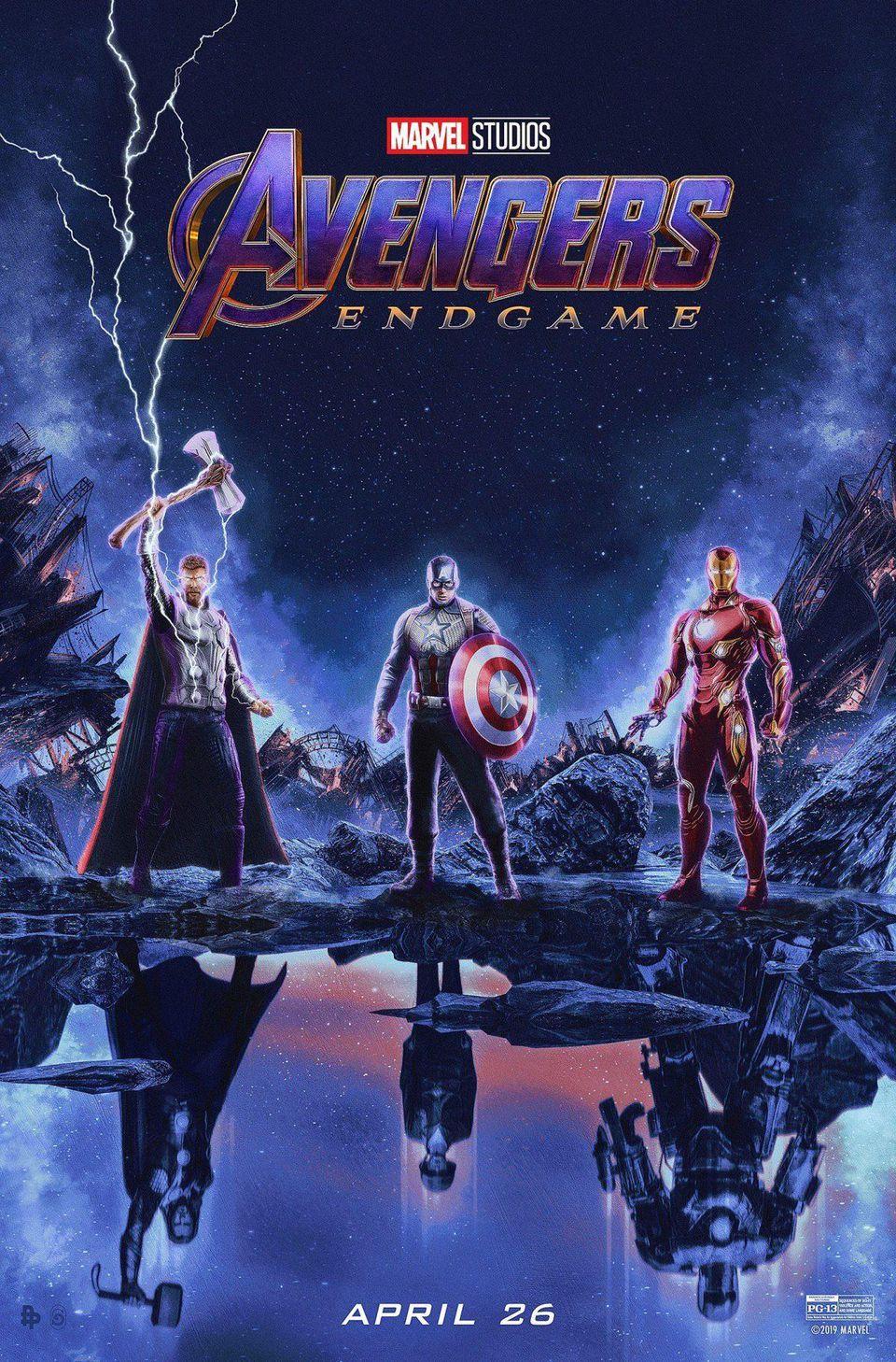 Avengers: Endgame (2019) posters - Avengers: Infinity War 1