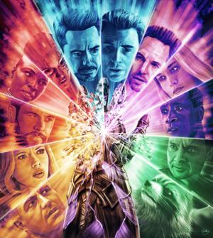 Avengers: Endgame Art Von Sam Gilbey for British GQ