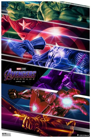 Avengers: Endgame - Created by Rich Davies