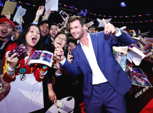 Avengers: Endgame tagahanga Event ~Shanghai ,China (April 18, 2019)