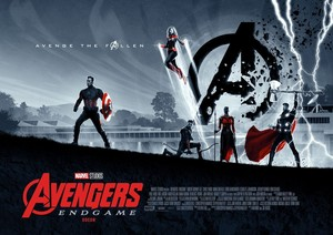 Avengers: Endgame Odeon Cinema Posters