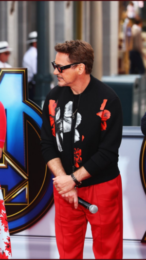 Avengers Endgame cast at Disney's California Adventure Park (April 5, 2019)