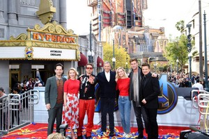 Avengers Endgame cast at Disney's California Adventure Park (April 5, 2019)