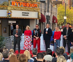 Avengers: Endgame cast at Disney's California Adventure Park (April 5, 2019)