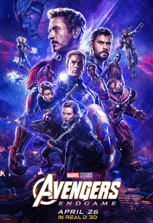 Avengers: Endgame exclusive RealD 3D poster