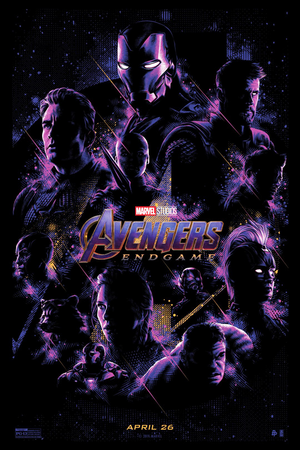 Avengers: Endgame exclusive poster bởi Tracie Ching
