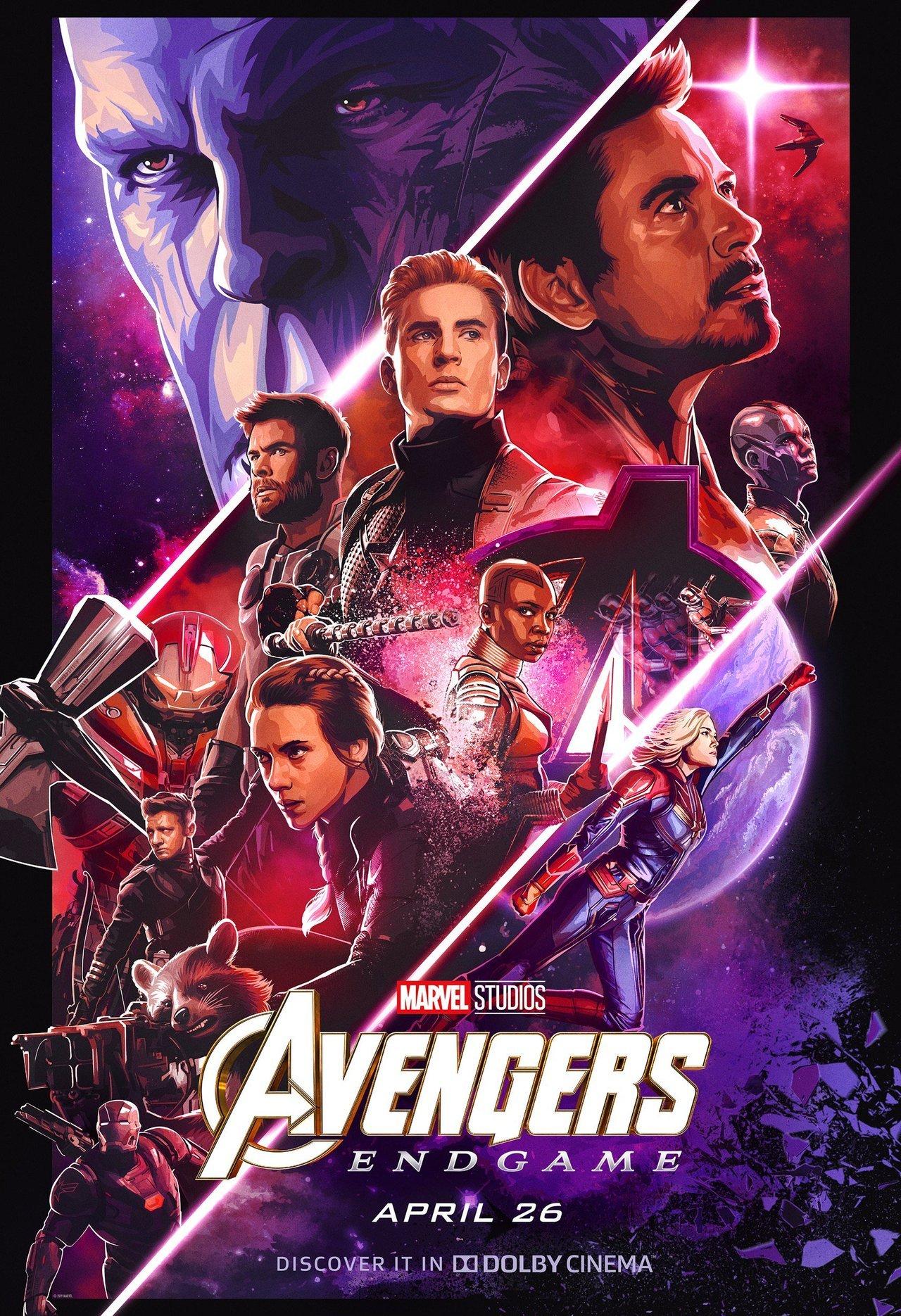 Avengers Endgame Official Poster Hd Wallpaper