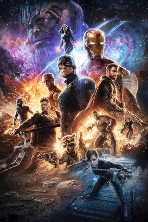 Avengers: Endgame promotional art