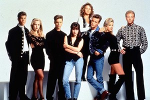 BEVERLY HILLS 90210 WITH LUKE PERRY