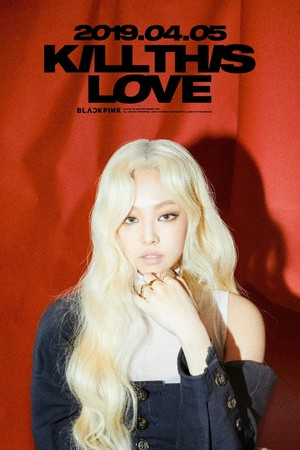 BLACKPINK - Kill This l'amour Jennie Poster