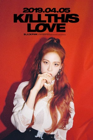 BLACKPINK - Kill This Amore Jisoo Poster