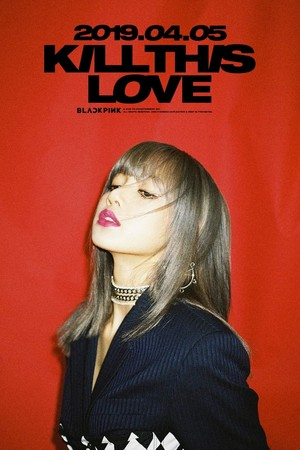 BLACKPINK - Kill This Amore Lisa Poster