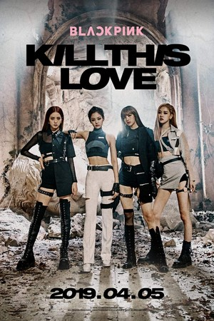BLACKPINK - Kill This Amore Poster