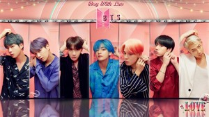 Bangtan Boys BOY WITH LUV #WALLPAPER