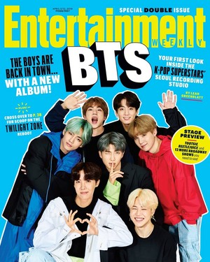 BTS Entertainment Weekly
