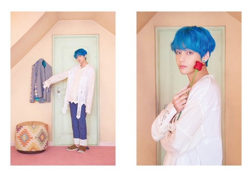 BTS Hintergrund entitled BTS MAP OF THE SOUL - PERSONA Photoconcept Ver. 3