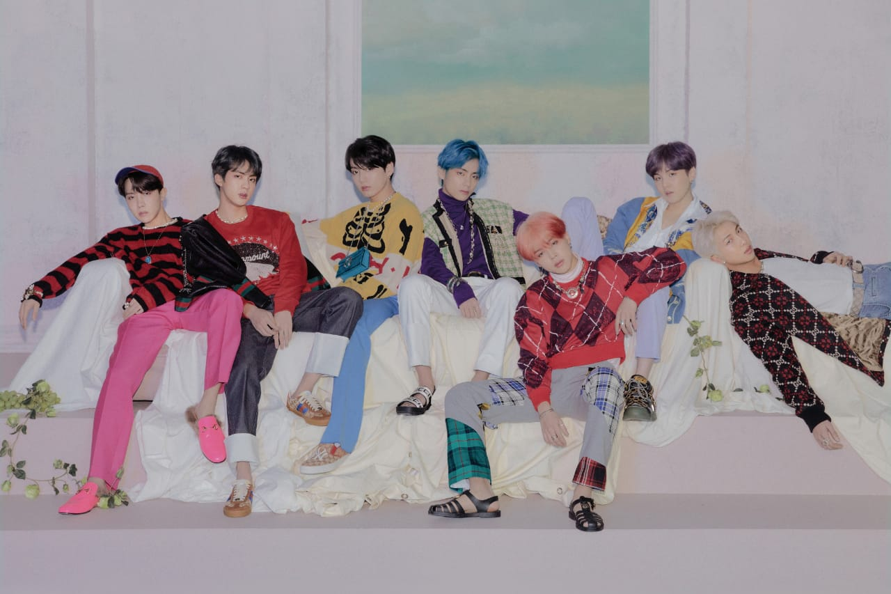 BTS MAP OF THE SOUL - PERSONA Photoconcept Ver. 4