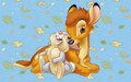 Bambi and Thumper - bambi wallpaper