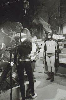 Batman-behind the scenes