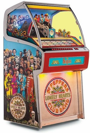 Beatles/Sgt. Pepper's Lonely Hearts Club Band jukebox 2