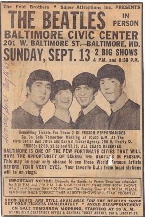 Beatles Poster ✨
