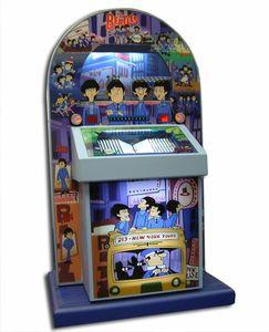 Beatles cartoon jukebox