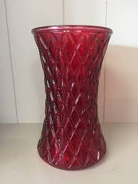 Beautiful Red Diamond Vase