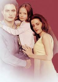 Bella and Edward and Renesmee