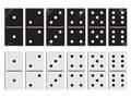 Black And White Dominoes - cherl12345-tamara wallpaper
