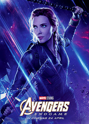 Black Widow ~Avengers: Endgame (2019) character posters
