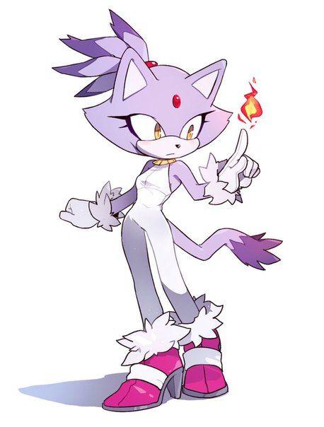 Blaze the cat Casuel Outfit