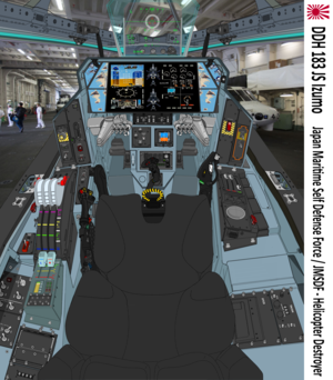 Block03 VFH-12X Super Auroran on JS DDH-183 Izumo