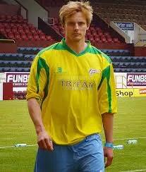 Bradley as a Footballer