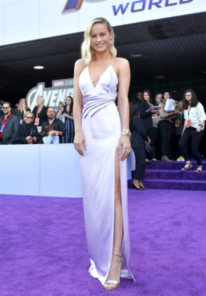 Brie Larson at the Avengers: Endgame World Premiere in Los Angeles (April 22nd, 2019)