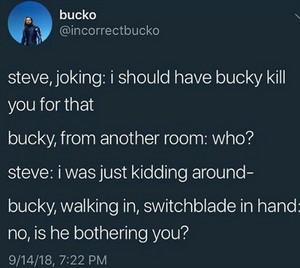 Bucky Imagines 1