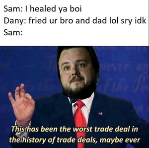 Business between Sam and Danny