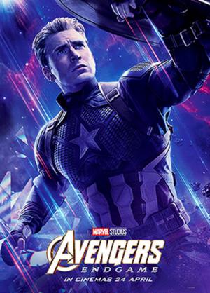 Captain America ~Avengers: Endgame (2019) character poster