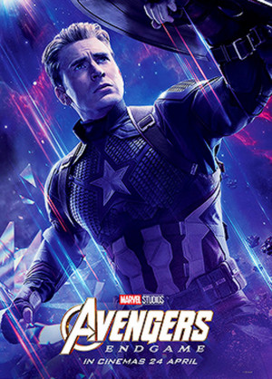 Captain America ~Avengers: Endgame (2019) character posters