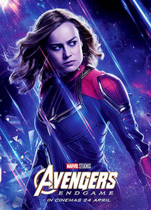 Captain Marvel ~Avengers: Endgame (2019) character poster