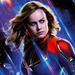 Captain Marvel ~Avengers: Endgame (2019)  - the-avengers icon