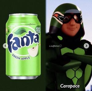 Carapace Fanta