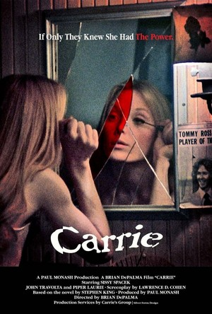 Carrie Movie Poster (1976)