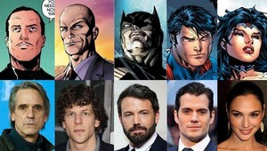 Cast superman Vs. batman