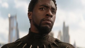Chadwick in Black panther