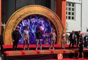 Chinese Theatres: Avengers assemble