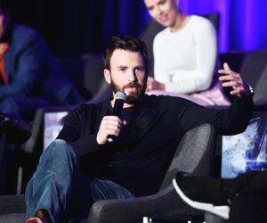 Chris Evans - Avengers: Endgame Global Junket Press Conference April 7, 2019