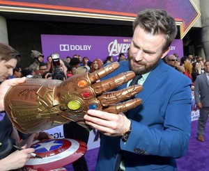 Chris Evans at the Avengers: Endgame World Premiere in Los Angeles (April 22nd, 2019)