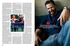 Chris Evans for Men's Journal 2019