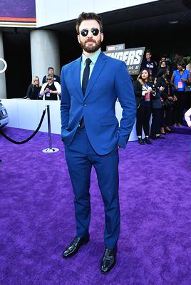 Chris Evans world premiere of Avengers Endgame (April 22, 2019)